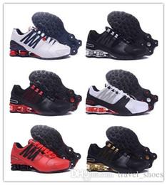 2019 homens, correndo, sapato, shox NIKE 0SHOX Avenue 802 2018 Shox Deliver 809 Men ar Running Shoes transporte da gota Atacado famosos ENTREGAR OZ homens NZ Sneakers Athletic sapatos de corrida un272 desconto homens, correndo, sapato, shox