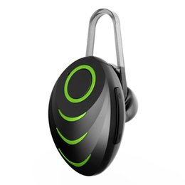беспроводные черные наушники Скидка Мини Беспроводная Шумоподавляющая Bluetooth-Гарнитура V4.0 стерео мода спортивные наушники черный + зеленый