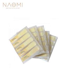 Caixas de sax alto on-line-NAOMI 5 Caixas Alto Sax Palhetas Saxofone Reeds W / Reed Caso de Plástico Força 3 Para Saxofone Alto Novo