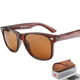 Óculos de sol wayfarer on-line-Venda quente aviador RAY óculos de sol do piloto do vintage da marca óculos de sol banda Polarized UV400 PROIBE Homens Mulheres Ben wayfarer frete grátis