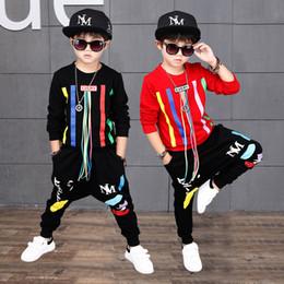 c88492ce9 Selling Children Boys Jazz Dance Costume Set Tops+Pants 2 Pieces Set Hip Hop  Street Dancing Clothes For Kids Casual Outfit
