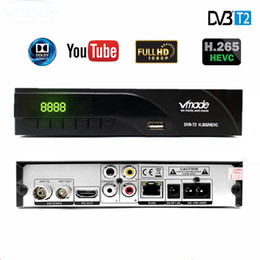 dvb h tv Coupons - K6 DVB-T2 H.265 HEVC Digital HD Terrestrial TV Receiver Supports Dolby Youtube DVB T2 T MPEG-2 Set Top Box