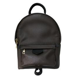 2020 mochila para crianças Hot Sale Designer menina Backpack Pu Couro Mini Bag Mulheres Crianças Escola Bags Backpack moda famosa Palm Springs Lady Bag Travel Bag mochila para crianças barato