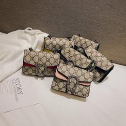 Kinder Designer Geldbörsen Baby Mädchen Mini Prinzessin Pruses Fashion Classic Pattern Design Kinder Kette Cross-Body-Taschen Candly Bag Geburtstagsgeschenke von Fabrikanten