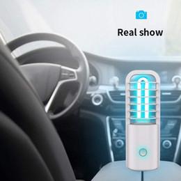 adaptador de coche de alto voltaje Rebajas 360 grados de coche bombilla UV ultravioleta germicida de la lámpara de ozono desinfección con luz de cuarzo UV LED Luz Para el hogar Aire Limpio matar los ácaros del USB