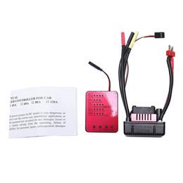 2019 cartes de programmation SURPASS HOBBY S-120A 120A Contrôleur de vitesse électrique Esc sans balai avec 6.1V / 3A Sbec 2-4S / Carte de programmation pour 1/8 1: 8 1/10 Rc cartes de programmation pas cher