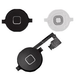 Yüksek kaliteli Ana Düğme Meclisi Flex Kablo Sensörü Şerit iPhone 4 Için Komple Parçaları nereden iphone ev esnek şerit tedarikçiler