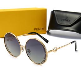 0358 FEND Горячий Стиль Ray Fashion Trend Солнцезащитные очки 61мм Линзы 5 Цветные Солнцезащитные очки Мужчины Женщины Горячий Стиль Fashion Trend Designer Солнцезащитные очки от