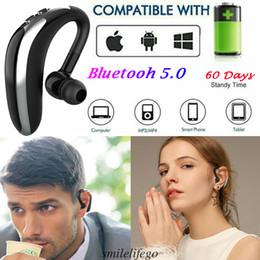 versão sem fio Desconto A versão mais recente do fone de ouvido Bluetooth Handsfree Wireless Earpiece Microfone de redução de ruído