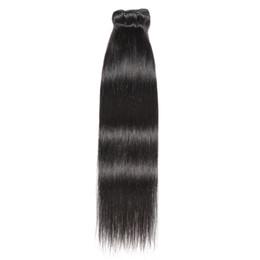8A Saç Uzantıları Düz Saç ucuz Brezilyalı Virgin İnsan Saç Demetleri örgüleri Doğal Siyah Renk Işlenmemiş Brezilyalı Bakire Remy nereden