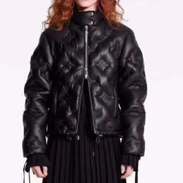 vestes à col montant imperméables Promotion casual asiatique 011 mode veste pour femmes M-LWSJ de haute qualité veste classique double face vers le bas manteau