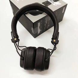 Canada Marshall Headphones Major III 3.0 Casque de jeu pliable et filaire avec réglage du volume du microphone pour iPhone, garantie de 2 ans Offre