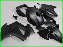 carenagens para honda interceptor Desconto Revestimentos pretos matte para o interceptor de Honda VFR800RR 2002 -2010 VFR 800 02 03 04 05 06 07 08 kit de carenagem