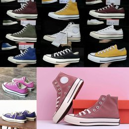 2020 2020 ConverseChuckTayLor All Stars 1970s Canvas Men Women Chaussures Casual Shoes High Plataforma Skate Mens Trainers Sneakers From