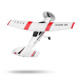 Canada F949 3CH 2.4GHz avion de contrôle radio RC avion fixe aile RTF CESSNA-182 avions de plein air jouets pour enfants 14+ WLtoys F949 supplier rtf radio control Offre