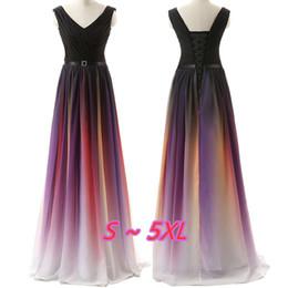 vestidos de vestidos de vestidos sexy sexy Desconto Preto Azul Marinho Cores Vestidos de Baile V pescoço Fora do Ombro Vestido de Noite Plus Size Prom Vestido Formal Vestido Longo Elegante Vestidos de Noite