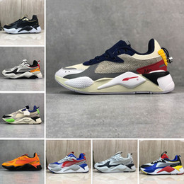 Freschi uomini casual scarpe online-puma 2019 giocattoli Do The Old RS-X Reinvention Mens Scarpa da running Cool Nero bianco Fashion Creepers papà Uomo Donna Casual Allenatore sportivo Sneakers 36-45