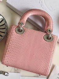 ae48d9ea1c Nuovi arrivi Mini borsa a mano in tartan di alta qualità Borsa in pelle di  grande shopping in pelle di pitone Borsa con tracolla in metallo argentato  borse ...
