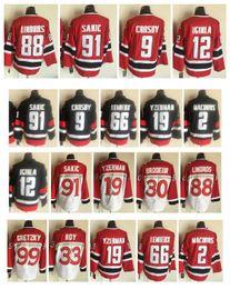 2019 al macinnis Jersey Canada Équipe LNH Mario Lemieux Joe Sakic Sidney Crosby Steve Yzerman Al Macinnis Jarome Iginla Wayne Gretzky al macinnis pas cher