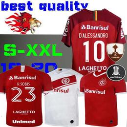 2019 2020 SC Интернациональный домашний футбол Джерси красная бразильская футболка 19 20 Damiao Silva D'Alessandro футболка на выезде GUERRERO от