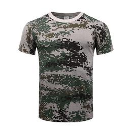 Deutschland Männer Outdoor Berühmte Tactical Camouflage Digital Dschungel T-shirt Atmungsaktiv US Army Combat T-shirt Schnell Trocknend Camo Jagd Camping Wandern Tees Versorgung