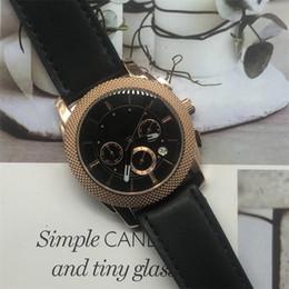 Faixas de relógio italiano on-line-2019 6-stitch AA3A moda relógio dos homens de esportes relógio de couro italiano relógio de quartzo banda, o melhor presente para os homens