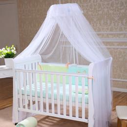 Deckennetz online-Neue Ankunfts-runde kleine Blumenkuppel-Bett-Überdachungs-Filetarbeits-Prinzessin Mosquito Net Palace Ceiling Round Floor Standing Nets