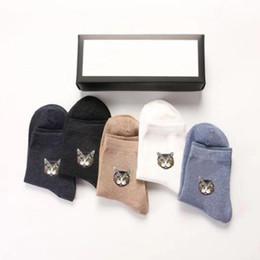 Canada 5 paires / boîte Chaussettes de luxe Mode Hommes Femmes Sport Chaussette de sport en coton sup Designer Chaussettes Taille libre 70 boîtes Offre
