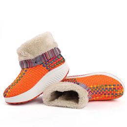Vendita calda-scarpe tonificanti delle donne piattaforma cunei Swing caldi sport all'aria aperta scarpe da ginnastica scarpe da ginnastica donna scarpa invernale caldo supplier sports fitness trainer da allenatore di forma fisica fornitori