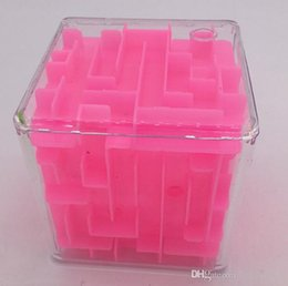 2019 bolas de laberinto Puzzle Maze Magic Cube Toys Mini Speed Cube Puzzles Labyrinth Rolling Ball Cubos Magicos Juguete de aprendizaje para niños adultos bolas de laberinto baratos