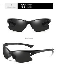 Beste fahren sonnenbrillen polarisiert online-Best-Selling neue Farbe wechselnde polarisierten Nachtsicht Sonnenbrille Sport treibende Sonnenbrille D458