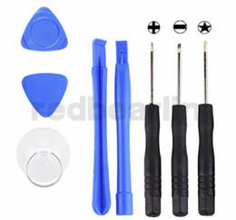 laminador máquina iphone oca Desconto 200 sets (1600 pcs), 8 em 1 Reparação Ferramentas de Abertura de Pry Com 5 Ponto de Estrela Pentalobe Torx Chave De Fenda Para iphone 4 4G 5, DHL Livre