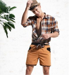 Спортивные состязания праздника онлайн-Мужские шорты быстро сухой 2019 летний отдых Siwmwear мужские пляж серфинга шорты трусы карманные плавки спорт бег Hybird шорты