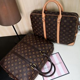 Bolsa de ombro vertical para mensageiro on-line-Unisex impermeável senhoras laptop bag seção vertical Mensageiro saco ombro masculino negócio