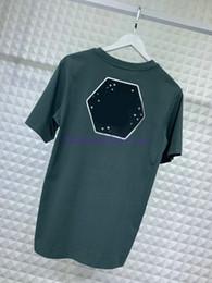 Argentina 2019 primavera verano mejor diseñador de lujo Europa paris camiseta de moda para hombre de la letra de la letra de la camiseta camiseta informal de algodón ropa camiseta tops camiseta Suministro