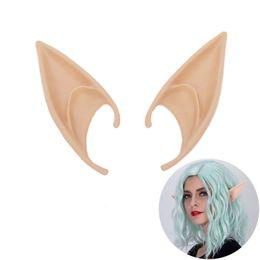 2019 atacado de fone de ouvido no inverno 2018 Ears Marca Fada New Cosplay Pixie Elf macias orelhas pontudas Partido Anime Tips Up traje