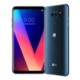 2019 gps android trasero Reacondicionado Original LG V30 H930 H931 H932 VS996 64GB Teléfono celular desbloqueado Octa Core 6.0inch Cámara trasera dual WIFI GPS Bluetooth Teléfono móvil gps android trasero baratos