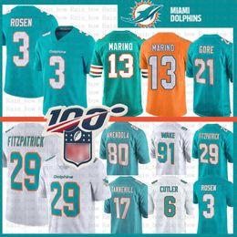 Delfines online-29 Minkah Fitzpatrick Miami Jersey Dolphins 13 Dan Marino 3 Josh Rosen 21 Frank Gore 80 Danny Amendola 17 Ryan Tannehill Cameron Wake Cutler