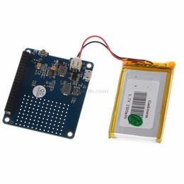 Módulo de litio online-Freeshipping UPS HAT Board Module Batería de litio de 2500mAh para Raspberry Pi 3 Modelo B / Pi 2B / B + / A +