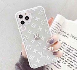 2019 cubierta huawei honor 4c Marca de moda casos del diseñador del teléfono para el teléfono iPhone de la flor de 11 X MAX 7 8 Plus cubierta a prueba de golpes de lujo