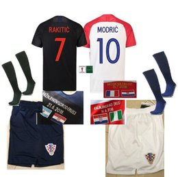 Camisetas Croatia vs UK France Flag! Equipe de Croatie world cup 2018  Maillot de Foot Football Soccer Jersey shorts socks france jersey world cup  for sale 8c8c53867