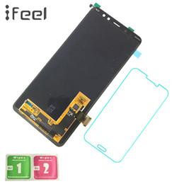 samsung a8 Скидка IFEEL оригинальный Super Amoled ЖК-дисплей для SAMSUNG Galaxy A8 Plus 2018 A730 A730x ЖК-дисплей + замена сенсорного экрана