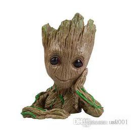 Funko POP! Bolígrafo Marvel: Dancing Groot maceta Figura de acción PVC Toys Doll desde fabricantes