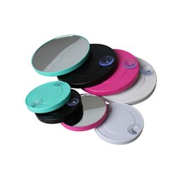 Canada Tasses d'aspiration petite forme ronde loupe miroir cosmétique 10x forme ronde miroirs de maquillage Top vente miroir de maquillage loupe Offre