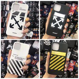 note wooden case Скидка Off Stripes Graffiti чехол для телефона iPhone 11 Pro max x xs max xr 7 8 Plus Shell черный белый задняя крышка дизайнерская стрелка Shell TPU A01