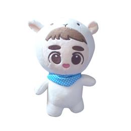 Bambole di peluche Kpop Exo Kyungsoo D.o. Xiumin Baby Doll Farcito Handmade Fans Toy Collection Soft Kpop bambole di peluche 23cm / 9