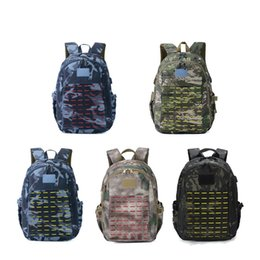 plastic climbing wall Coupons - Camouflage Climb Bag Man Woman 3D Outdoors Tactical Backpack Army Fans Multi Colors Field Bags New Arrival 47hy L1