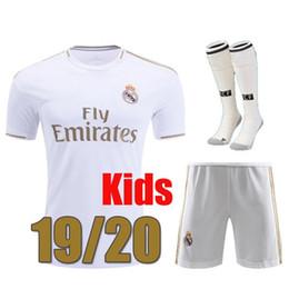 Camiseta de fútbol HAZARD 19 20 REAL MADRID Jerseys HOMBRE MUJER NIÑOS  soccer jersey Camisa Liga de campeones Jersey de madrid Real madrid 2019 2020 sergio ramos MODRIC desde fabricantes