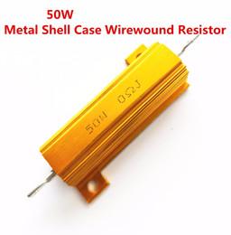 1 Pz valore intero 50 W 0,01 -100 K ohm 0.47 R 0.5R 0.56R 0.68R 1R 1.5R 2R Involucro in alluminio a spirale con involucro in metallo Resista 5% da