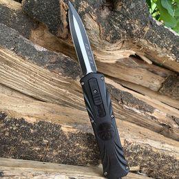 2019 cuchillos delanteros fuera MT OUT the Front Cuchillo automático Tactical Combat camping utilitario senderismo Auto cuchillos Navaja de bolsillo con funda de nylon rebajas cuchillos delanteros fuera